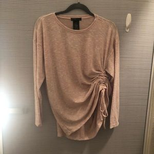NWT Blush Synched Sweater
